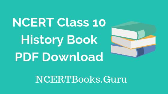 NCERT-Class-10-History-Book