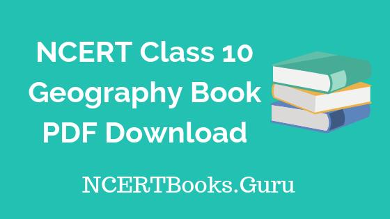 NCERT-Geography-Book-Class-10