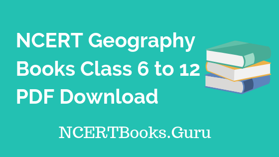 NCERT-Geography-Books