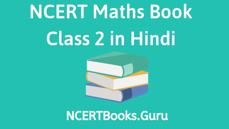 NCERT Maths Book Class 2 in Hindi