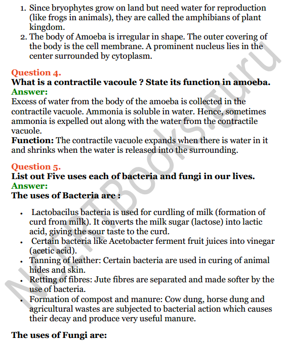 Selina Concise Biology Class 7 ICSE Solutions Chapter 2 Classification of Plants 8