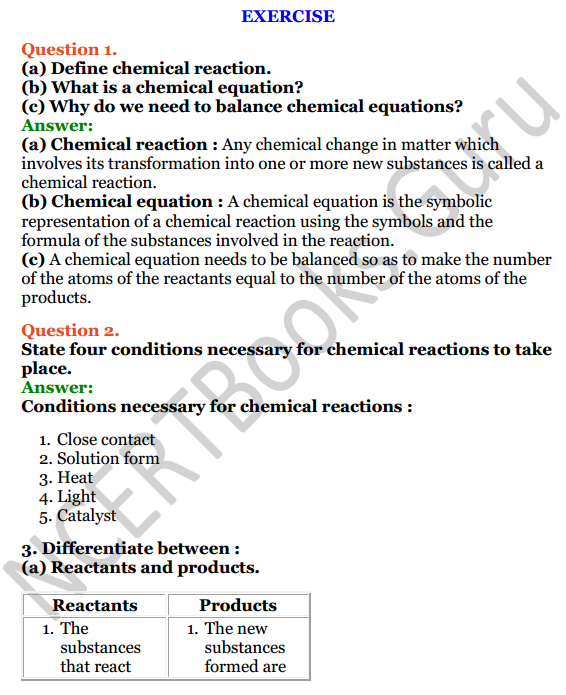 Selina Concise Chemistry Class 7 ICSE Solutions Chapter 5 Language of Chemistry 1