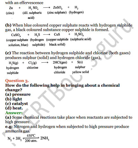 Selina Concise Chemistry Class 8 ICSE Solutions Chapter 6 Chemical Reactions 2