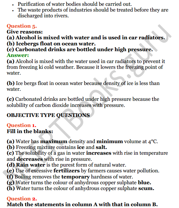 Selina Concise Chemistry Class 8 ICSE Solutions Chapter 8 Water 13