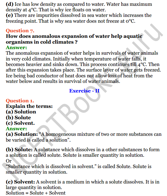 Selina Concise Chemistry Class 8 ICSE Solutions Chapter 8 Water 3