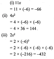 Selina Concise Mathematics Class 6 ICSE Solutions Chapter 21 Framing Algebraic Expressions 10