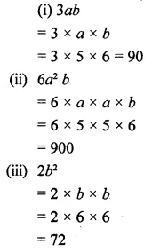 Selina Concise Mathematics Class 6 ICSE Solutions Chapter 21 Framing Algebraic Expressions 13
