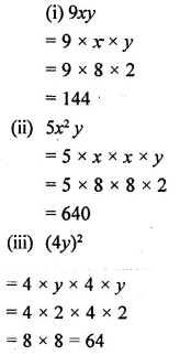 Selina Concise Mathematics Class 6 ICSE Solutions Chapter 21 Framing Algebraic Expressions 14
