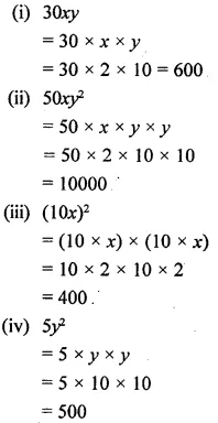 Selina Concise Mathematics Class 6 ICSE Solutions Chapter 21 Framing Algebraic Expressions 17