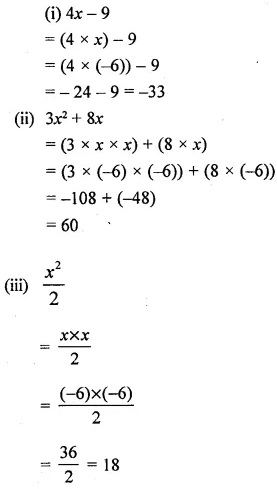 Selina Concise Mathematics Class 6 ICSE Solutions Chapter 21 Framing Algebraic Expressions 20