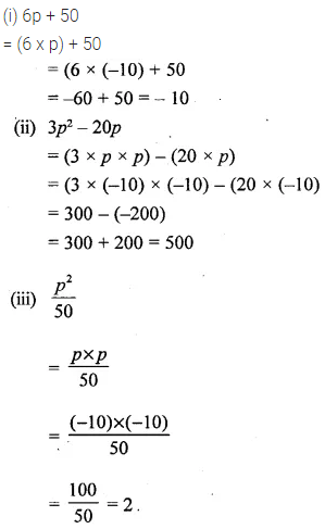 Selina Concise Mathematics Class 6 ICSE Solutions Chapter 21 Framing Algebraic Expressions 22