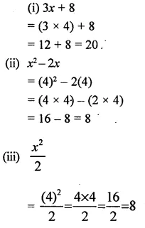 Selina Concise Mathematics Class 6 ICSE Solutions Chapter 21 Framing Algebraic Expressions 4