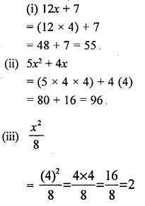 Selina Concise Mathematics Class 6 ICSE Solutions Chapter 21 Framing Algebraic Expressions 6