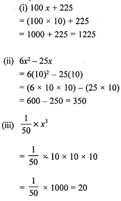 Selina Concise Mathematics Class 6 ICSE Solutions Chapter 21 Framing Algebraic Expressions 8