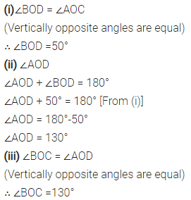 Selina Concise Mathematics Class 6 ICSE Solutions Chapter 25 Properties of Angles and Lines Ex 25A 1
