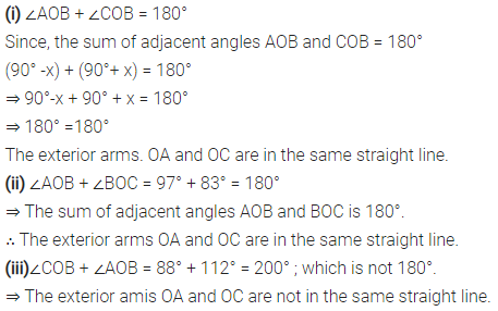 Selina Concise Mathematics Class 6 ICSE Solutions Chapter 25 Properties of Angles and Lines Ex 25A 4