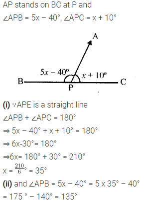 Selina Concise Mathematics Class 6 ICSE Solutions Chapter 25 Properties of Angles and Lines Ex 25A 5