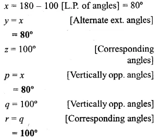 Selina Concise Mathematics Class 6 ICSE Solutions Chapter 25 Properties of Angles and Lines Ex 25B 10