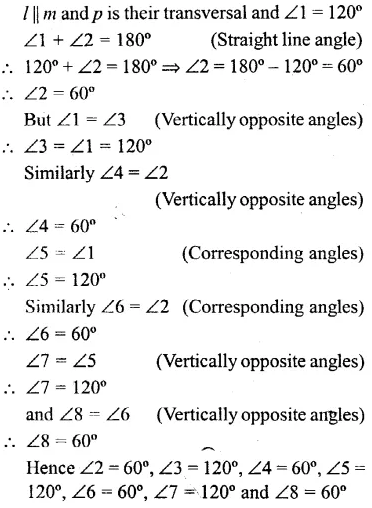 Selina Concise Mathematics Class 6 ICSE Solutions Chapter 25 Properties of Angles and Lines Ex 25B 9