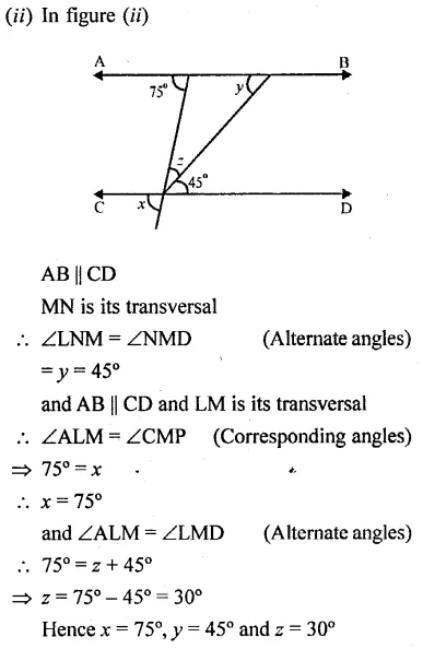 Selina Concise Mathematics Class 6 ICSE Solutions Chapter 25 Properties of Angles and Lines Rec Ex 34