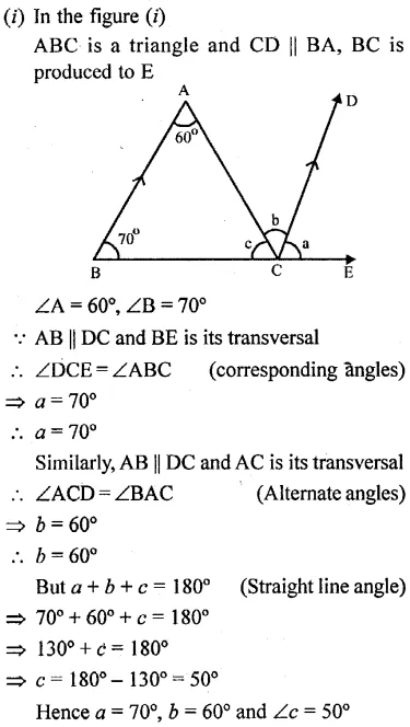 Selina Concise Mathematics Class 6 ICSE Solutions Chapter 25 Properties of Angles and Lines Rev Ex 35