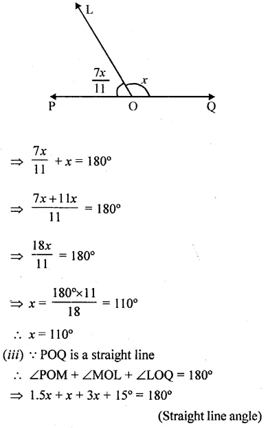 Selina Concise Mathematics Class 6 ICSE Solutions Chapter 25 Properties of Angles and Lines Rev Ex 43