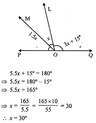 Selina Concise Mathematics Class 6 ICSE Solutions Chapter 25 Properties of Angles and Lines Rev Ex 44