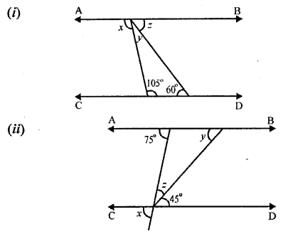 Selina Concise Mathematics Class 6 ICSE Solutions Chapter 25 Properties of Angles and Lines Revision Ex Q1