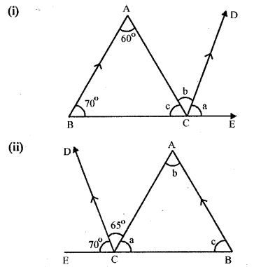 Selina Concise Mathematics Class 6 ICSE Solutions Chapter 25 Properties of Angles and Lines Revision Ex Q2
