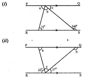 Selina Concise Mathematics Class 6 ICSE Solutions Chapter 25 Properties of Angles and Lines Revision Ex Q3
