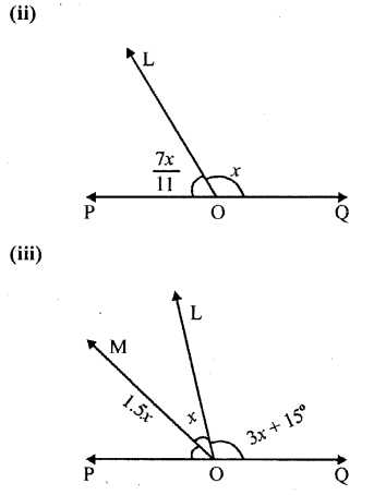 Selina Concise Mathematics Class 6 ICSE Solutions Chapter 25 Properties of Angles and Lines Revision Ex Q7.1