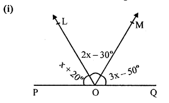 Selina Concise Mathematics Class 6 ICSE Solutions Chapter 25 Properties of Angles and Lines Revision Ex Q7