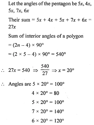 Selina Concise Mathematics Class 6 ICSE Solutions Chapter 28 Polygons Ex 28A 10