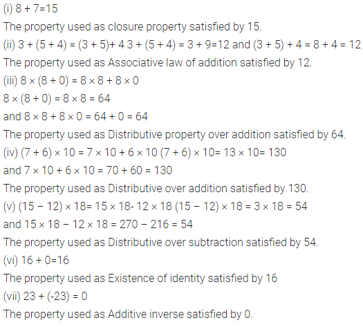 Selina Concise Mathematics Class 6 ICSE Solutions Chapter 5 Natural Numbers and Whole Numbers Ex 5A 7