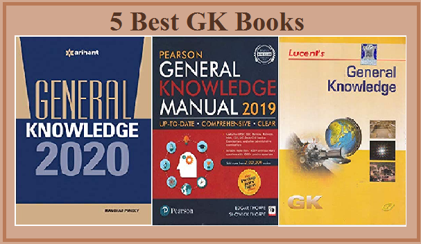5 Best GK Books 2019-2020 To Crack UPSC, RRB, SSC Exams
