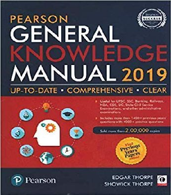 General Knowledge Manual by Pearson