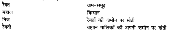 NCERT Solutions for Class 8 Social Science History Chapter 3 (Hindi Medium) 1