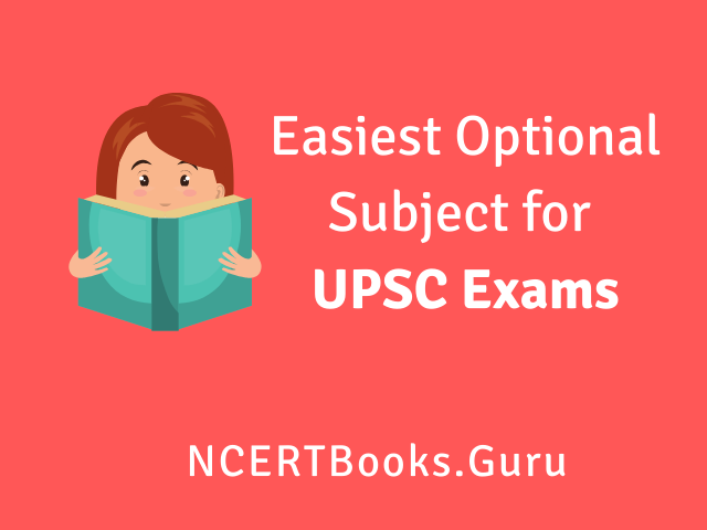 Easiest Optional Subject for UPSC