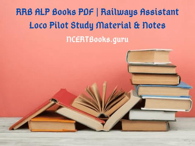 RRB ALP Books