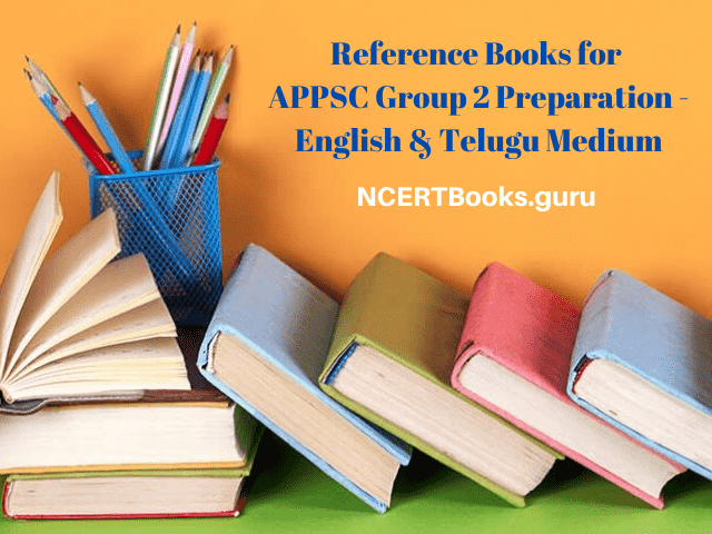 Reference Books for APPSC Group 2