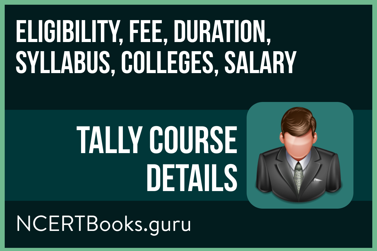 Tally Course Details