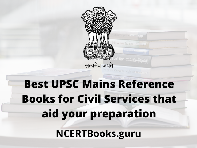 UPSC Mains Reference Books