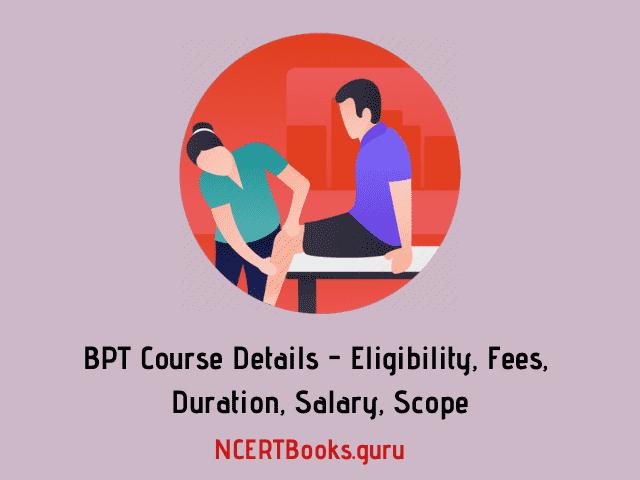 BPT Course Details