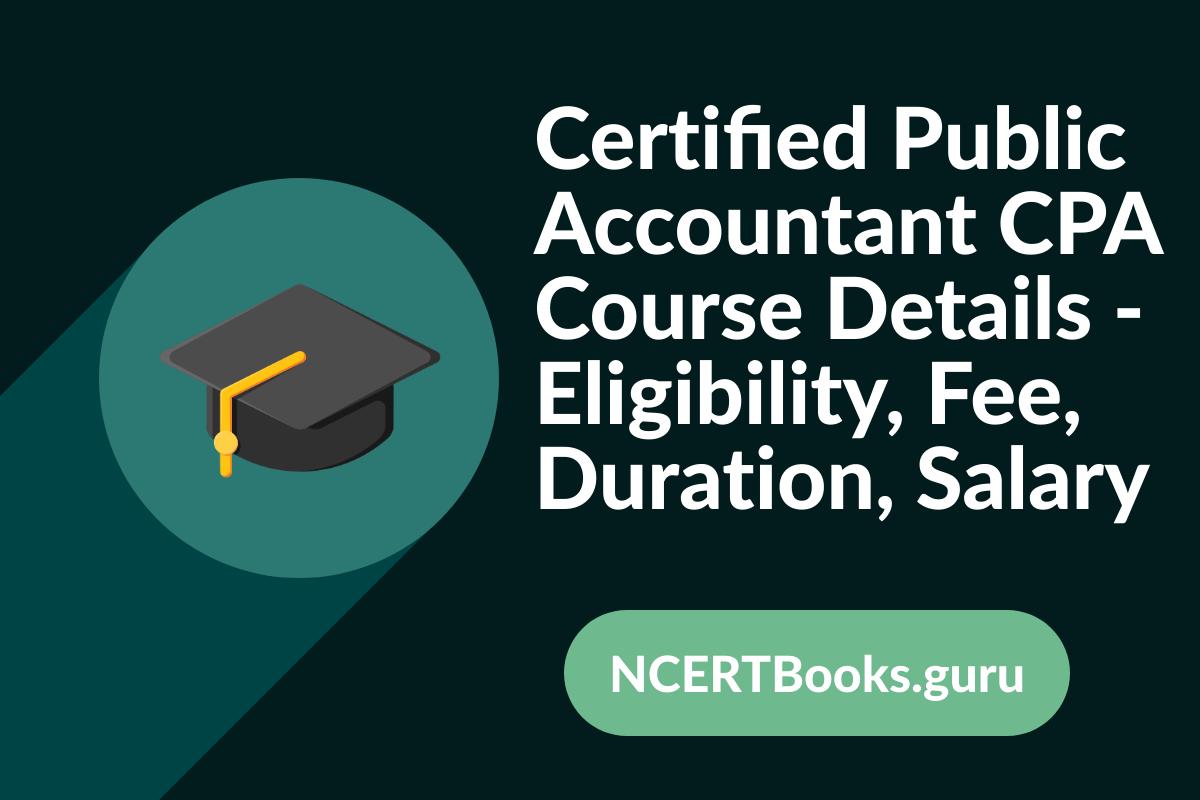 CPA Course Details