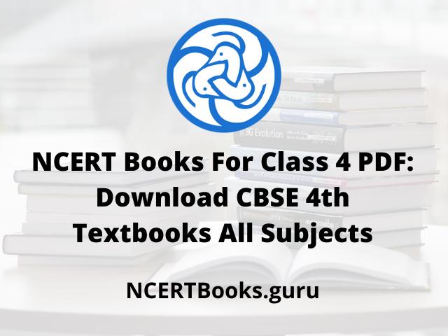 NCERT Books For Class 4