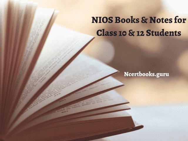NIOS Books