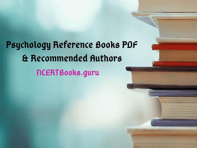 Psychology Reference Books PDF
