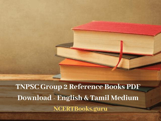 TNPSC Group 2 Reference Books