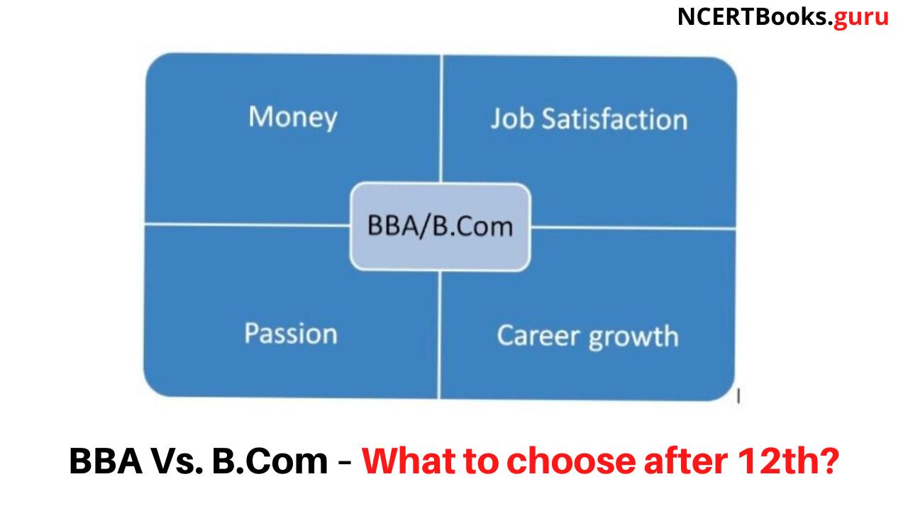 BBA Vs. B.Com