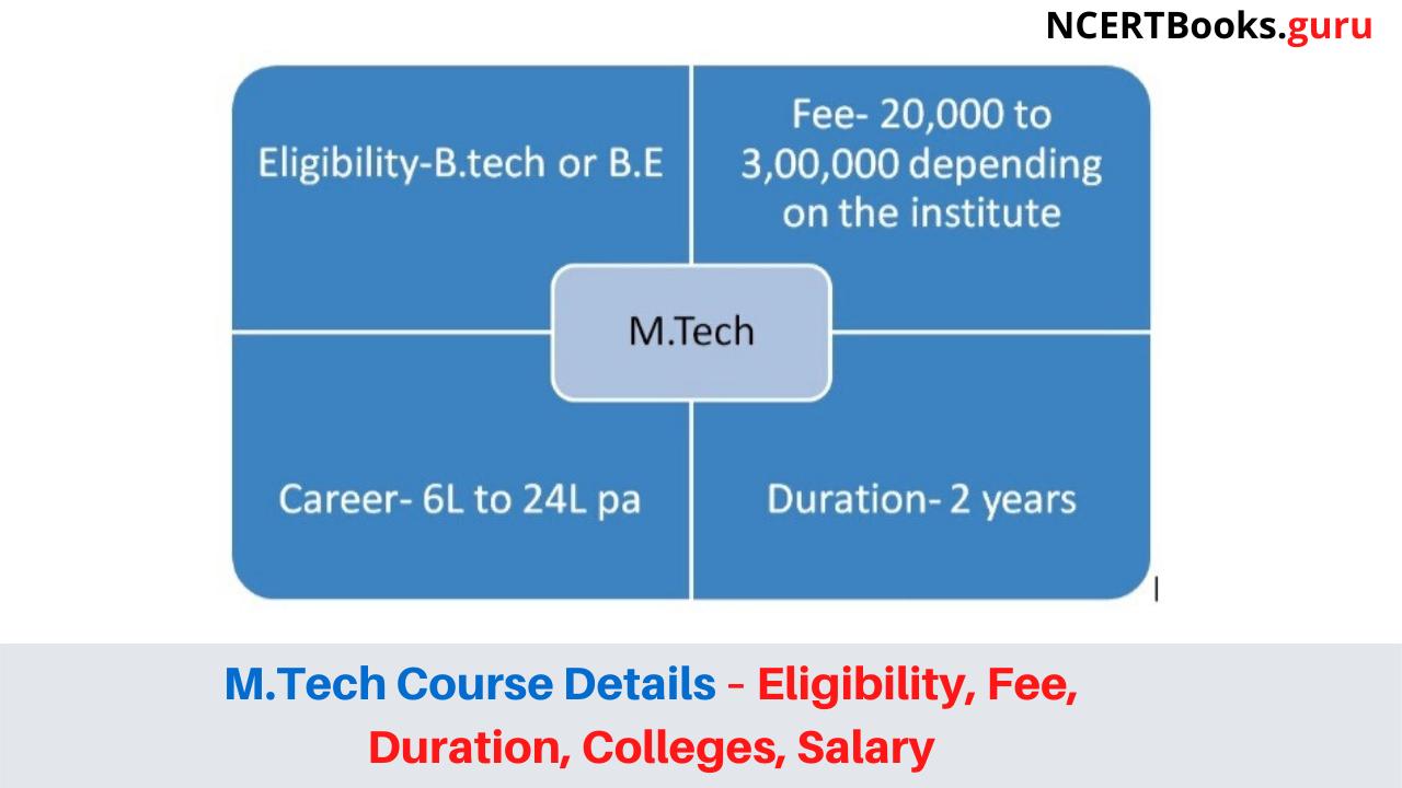 M.Tech Course Details